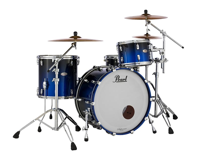 Pearl Reference Ultra Blue Fade 14x14 Floor Tom RARE Drum NEW Authorized Dealer!