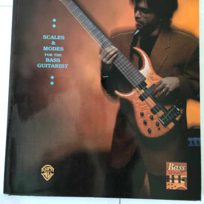 Jimmy Haslip's Melodic Bass Library Scales & Modes for Bass Guitarists Music Song Book