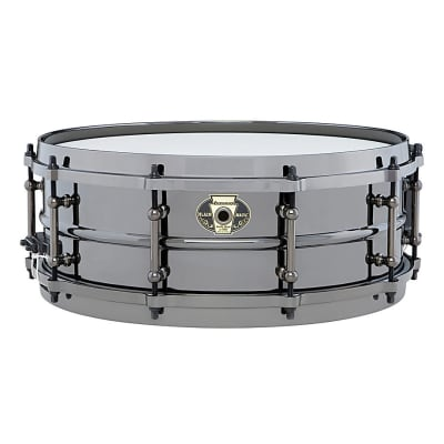 "Ludwig LW5514 Black Magic 5.5x14"" Brass Snare Drum"