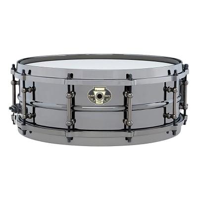 Ludwig Black Magic Snare Drum, Black, 5x14 Inch, LW5514