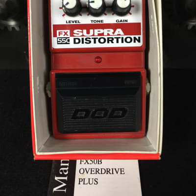 DOD FX 55C Supra Distortion w/ Original Box for sale