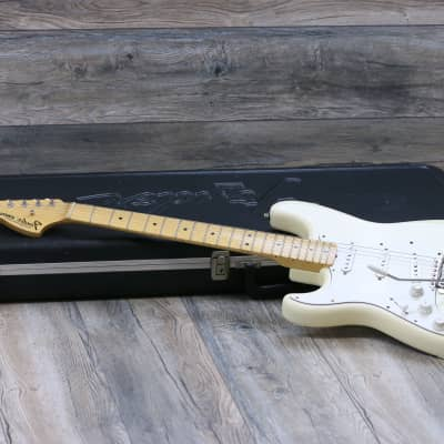 Fender Jimi Hendrix Stratocaster Voodoo Tribute Left Setup 1997 Olympic White for sale