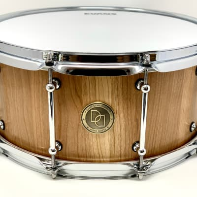 "Davies Drums Co. 6.5""X14""  Cherry Stave Snare Drum 2020 Natural semi gloss"