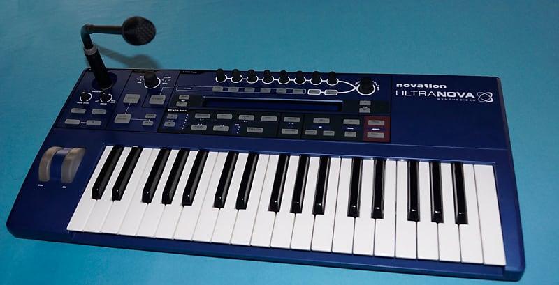 novation ultranova 37 key analog modeling synthesizer reverb. Black Bedroom Furniture Sets. Home Design Ideas