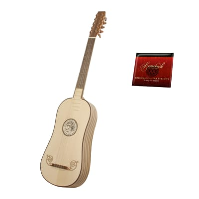 Roosebeck Baroque 5-Course Guitar w/ Gig Bag & Extra String Set