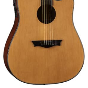 Dean Guitars AX DCE GN GN Dreadnought Cutaway Acoustic-Electric Guitar, Gloss Natural for sale
