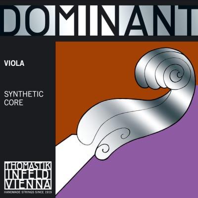 Thomastik-Infeld 4123.3 Dominant Silver Wound Synthetic Core 38cm Viola String - G (Medium)