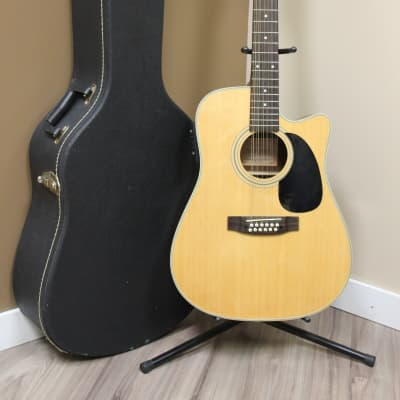 Takamine EG535C 12 Strings Acoustic Electric Guitar w/Hard Case