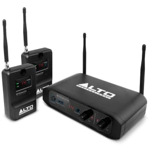 Alto Professional STEALTHWRL Stealth Wireless Stereo Wireless System for Active Loudspeakers