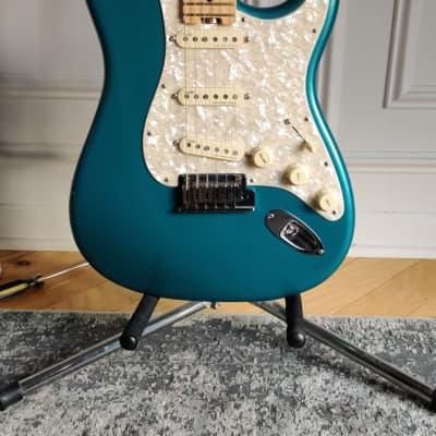 Fender American Elite Stratocaster Ocean Turquoise w/OHSC