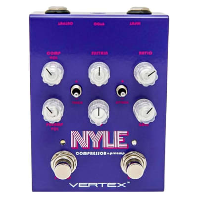 Vertex NYLE Comprssor / Preamp Effects Pedal
