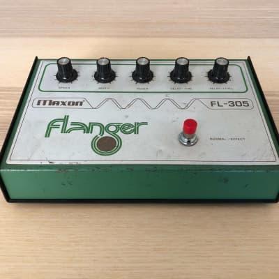 Maxon FL-305 Flanger   Made In Japan   1976-79   Vintage Guitar Effect Pedal