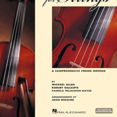 Hal Leonard Essential Elements for Strings Violin  Book 1 with Online Audio
