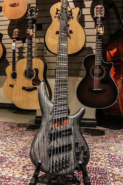 ibanez srff806 fanned fret 6 string bass guitar reverb. Black Bedroom Furniture Sets. Home Design Ideas