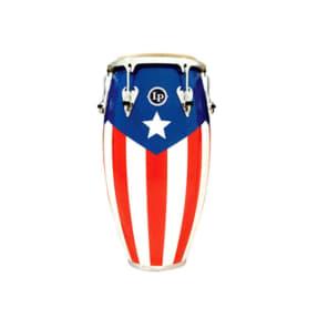 "Latin Percussion M754S-PR Matador Series Puerto Rican Heritage Wood 12.5"" Tumba"