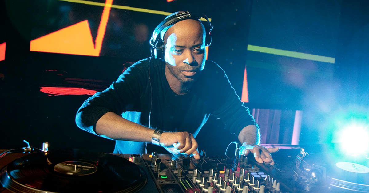 Juan Atkins (2011). Photo by Yann Gross/Red Bull Content Pool.
