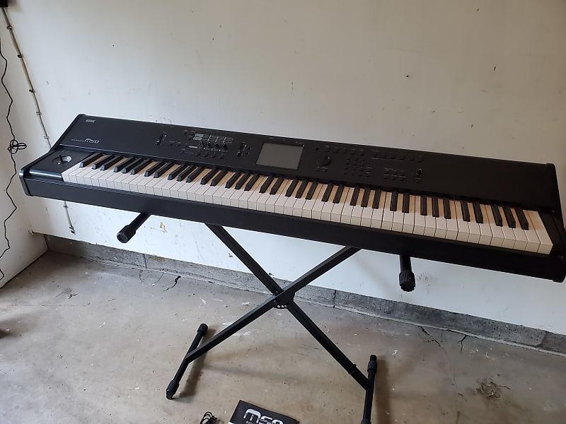 korg m50 88 key music workstation keyboard linda reverb. Black Bedroom Furniture Sets. Home Design Ideas