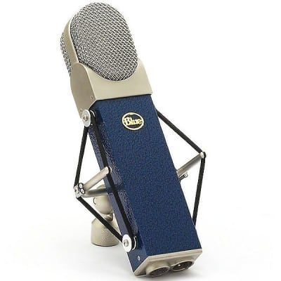 Blue Microphones Blueberry Large Condenser Microphone With S-2 Shock Mount And Case 988-000003