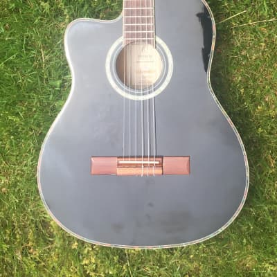 Ortega RCE145 Acoustic-Electric Classical Guitar LEFT-HANDED