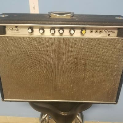 Rare Vintage Standel X S-10R Solid State Guitar Amplifier Combo Amp for sale
