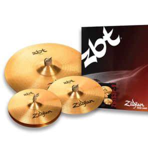 """Zildjian ZBT Starter Box Set 13"""" / 14"""" / 18"""" Cymbal Pack"""