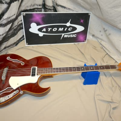 Vintage Vox Apollo IV 4-string Electric Bass Guitar Red for sale