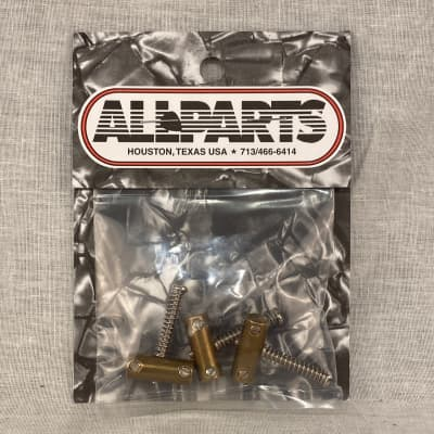 Allparts BP2328008 Tilted Brass Saddles