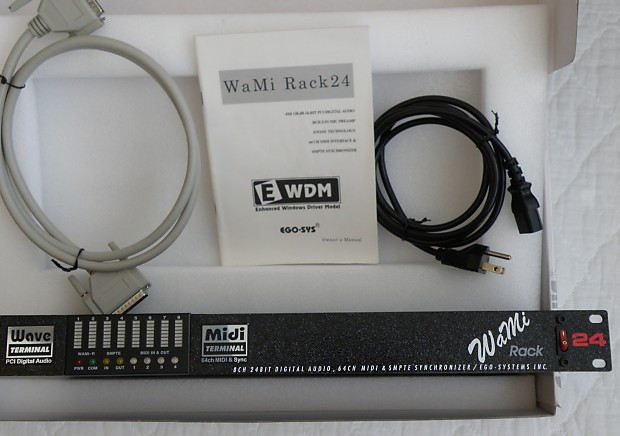 EGOSYS WAMIRACK 24 DRIVER FOR WINDOWS MAC