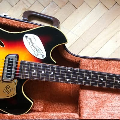 Meazzi Acoustic Jupiter 1964 Sunburst Vintage Made in Italy for sale