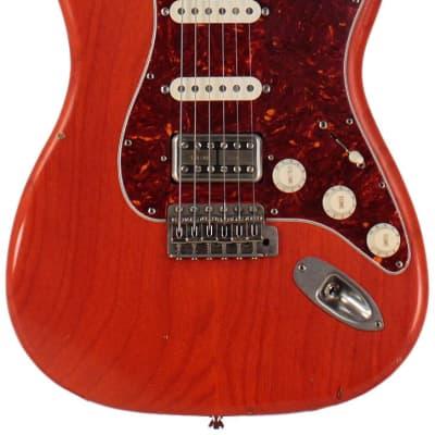Nash S-63 Guitar, Gretsch Orange, HSS, Lollartron, Light Aging for sale