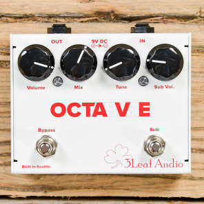 3Leaf Audio Octabvre Octave Pedal