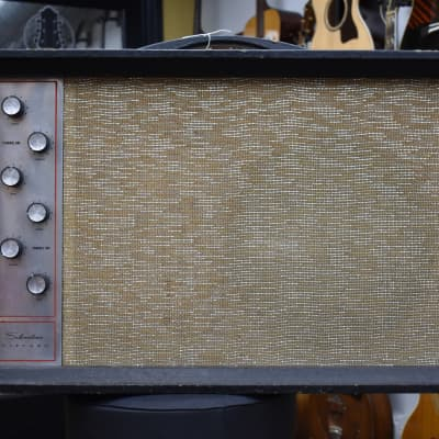 "1962 Silvertone ""Fifteen"" Model 1473 Vintage Bass and Guitar Amplifier"