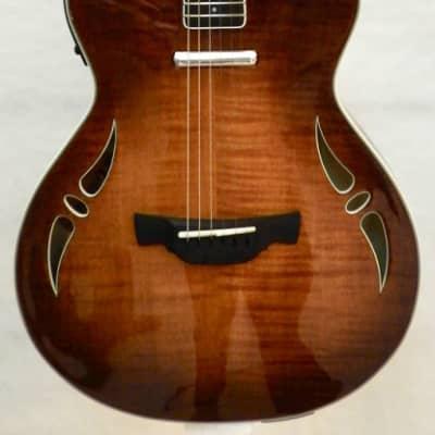 Magnifique Guitare Electrique CRAFTER SA TMVS ERABLE FLAMME CORPS ACAJOU + Etui Crafter for sale