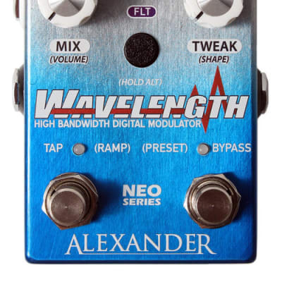 Alexander Wavelength Modulator Guitar Effect Pedal