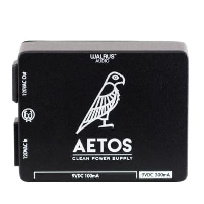 Walrus Audio Aetos 8 Output Power Supply, Black (New Art, Gear Hero HQ Exclusive) for sale