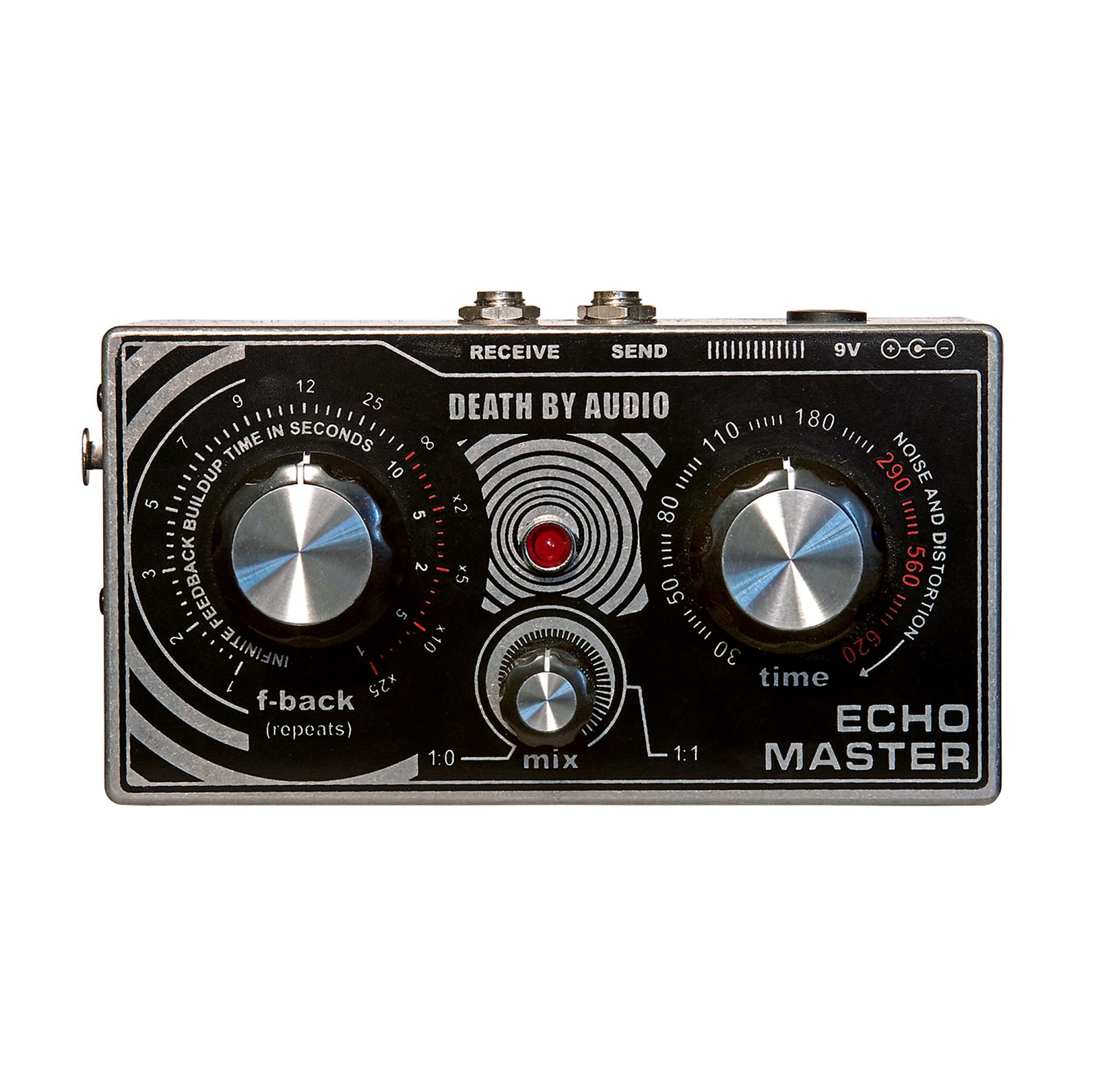 Death By Audio DBA Echo Master Vocal Delay Effects Pedal