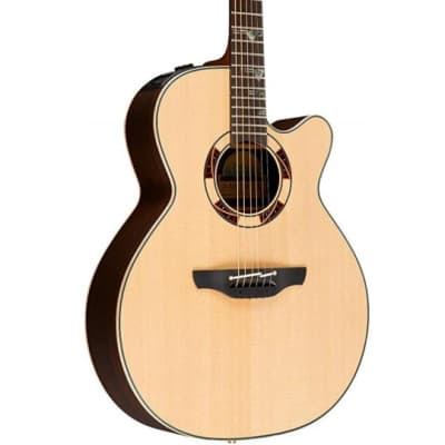 Takamine TSF48C Santa Fe Acoustic Electric Guitar Natural w/ Case for sale