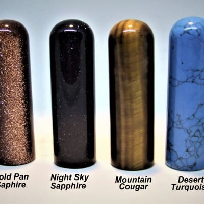 "Rocky Mountain Slides Company Element Series Handmade Tone bars Your Choice  Stones ""Classic"" length"