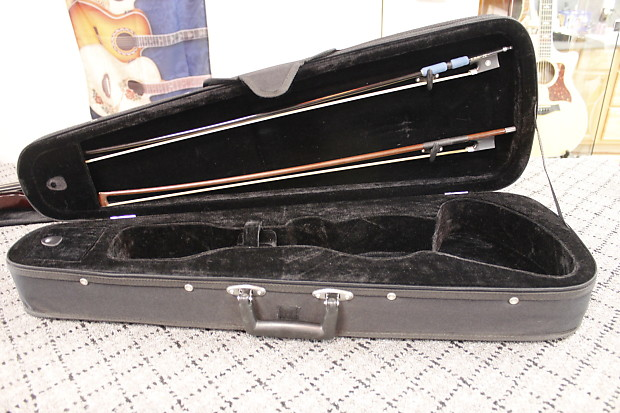 Santini Electric Violin With Case And Bow Reverb