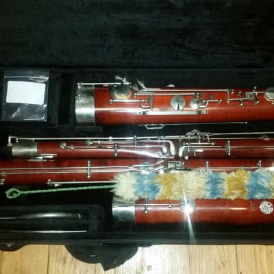 Huller Wooden Intermediate Bassoon--Fully Restored, ProTec Case!