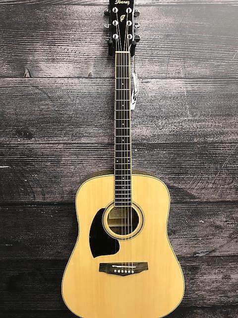 ibanez pf15l nt lefty acoustic guitar sam ash springfield reverb. Black Bedroom Furniture Sets. Home Design Ideas