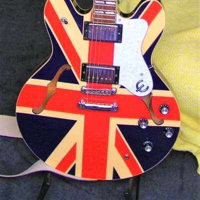 Epiphone Supernova Noel Gallagher Signature Union Jack 2001 Union Jack for sale