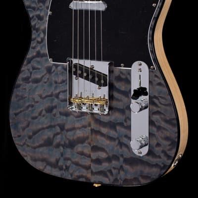 Fender Rarities Quilt Maple Top Telecaster Blue Cloud (466)