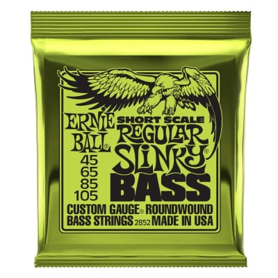 Ernie Ball 2852 Short Scale Nickel Wound Regular Slinky Bass