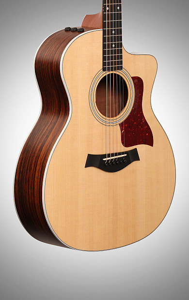 taylor 214ce grand auditorium acoustic electric guitar with reverb. Black Bedroom Furniture Sets. Home Design Ideas