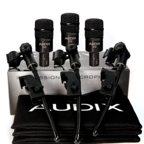 Audix D2 Trio with DVICE Mounts