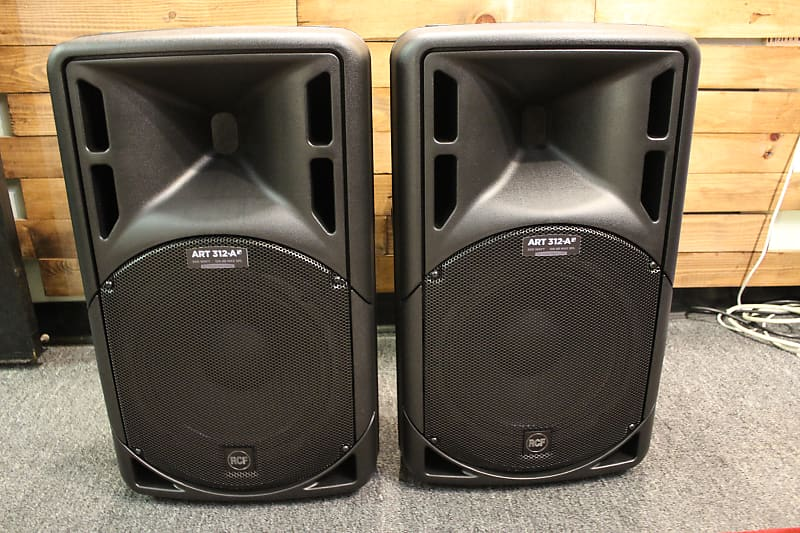 RCF ART-312A MK4 Active 2 Way Speakers (A PAIR) with (2