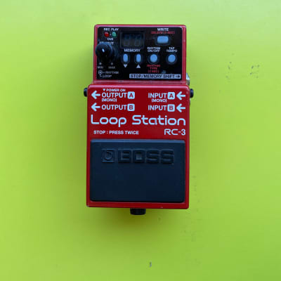 Boss RC3 loop station effetto per chitarra for sale