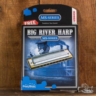 Hohner Big River Harp Harmonicas Assorted Keys - G