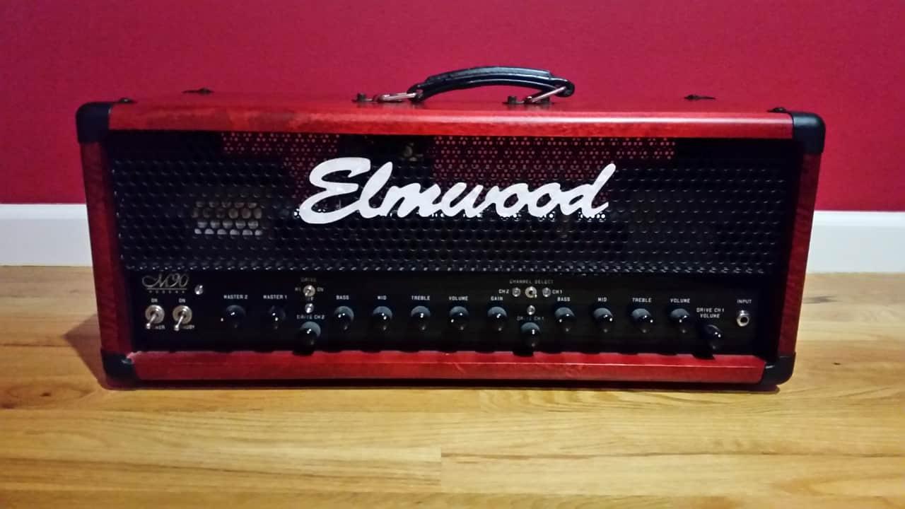 elmwood modena m90 rare red birch chris 39 s boutique reverb. Black Bedroom Furniture Sets. Home Design Ideas